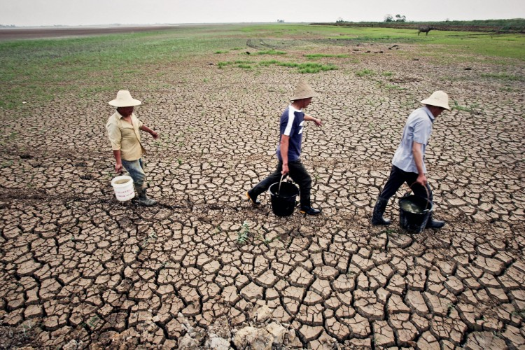 Wuhan is suffering from the worst drought in 60 years.  (From a source inside China)