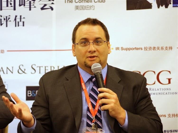 Dan David, vice president of GeoInvesting