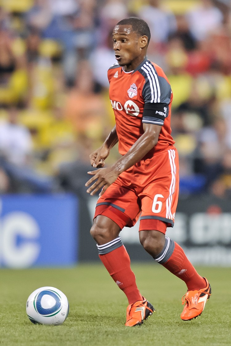 Toronto FC designated player Julian de Guzman had a man-of-the-match performance against Pumas.(Jamie Sabau/Getty Images)