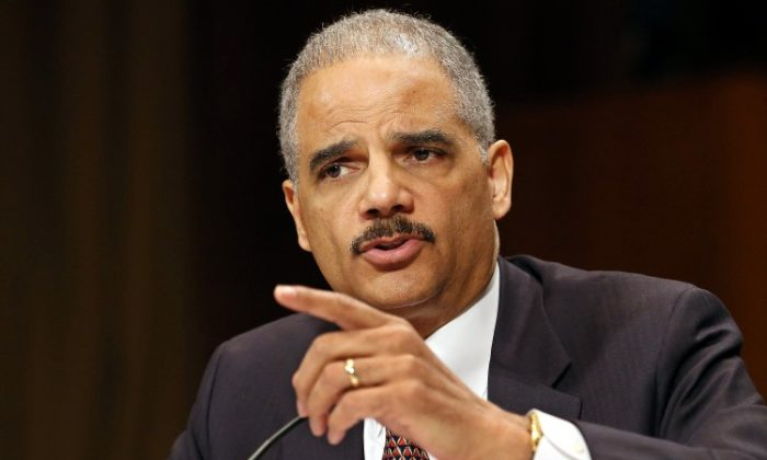 U.S. Attorney General Eric Holder testifies before the Senate Judiciary Committee on Capitol Hill Wednesday, March 6. Holder said he supports more transparency on the administration's drone programs and expects President Obama will raise the issue in the near future. (Chip Somodevilla/Getty Images)