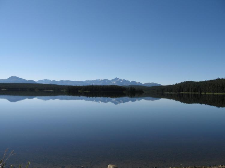 Fish Lake in the Chilcotin region of B.C. has been slated for use as a tailings dump in a mining project. Eleven lakes across the country, including Sandy Pond in Newfoundland, face the same fate. ()