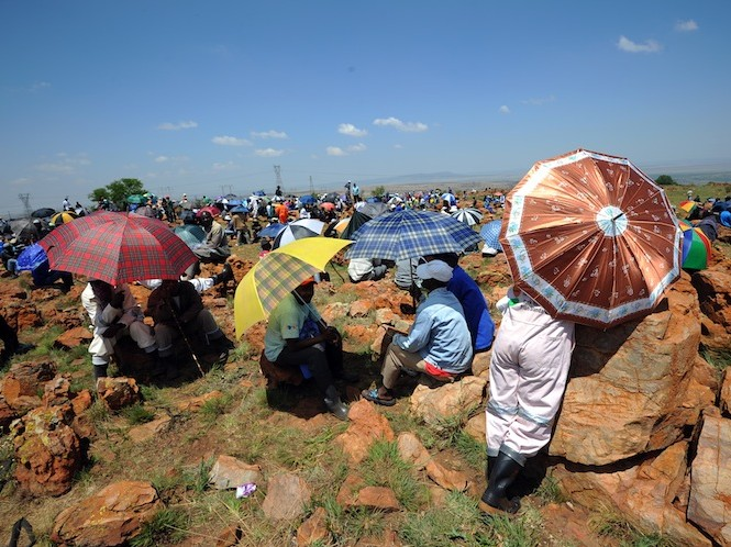 miners strike in south africa and how it relates to literature Indians in south africa wage satyagraha for their rights workers and miners in his time in south africa was foundational in his development of.
