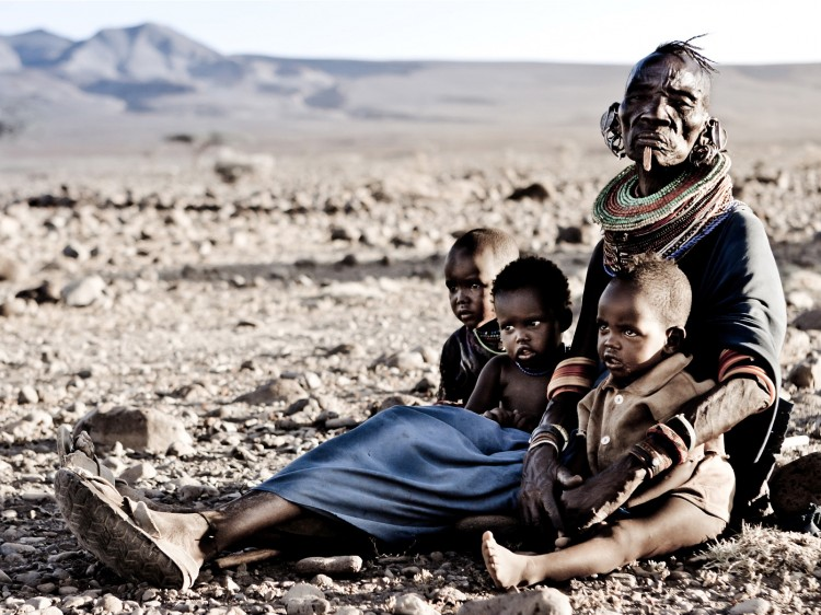 The Turkana people live around Lake Turkana in Kenya and Ethiopia. They will be seriously affected by the Gibe lll Dam.  (Federica Miglio/Survival )
