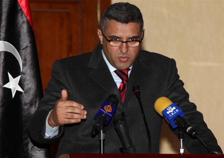 Libyan Interior Minister Fawzi Abdelali