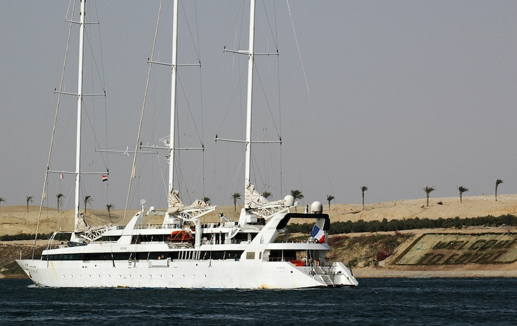 French luxury boat Le Ponant was hijacked by Somali Pirates