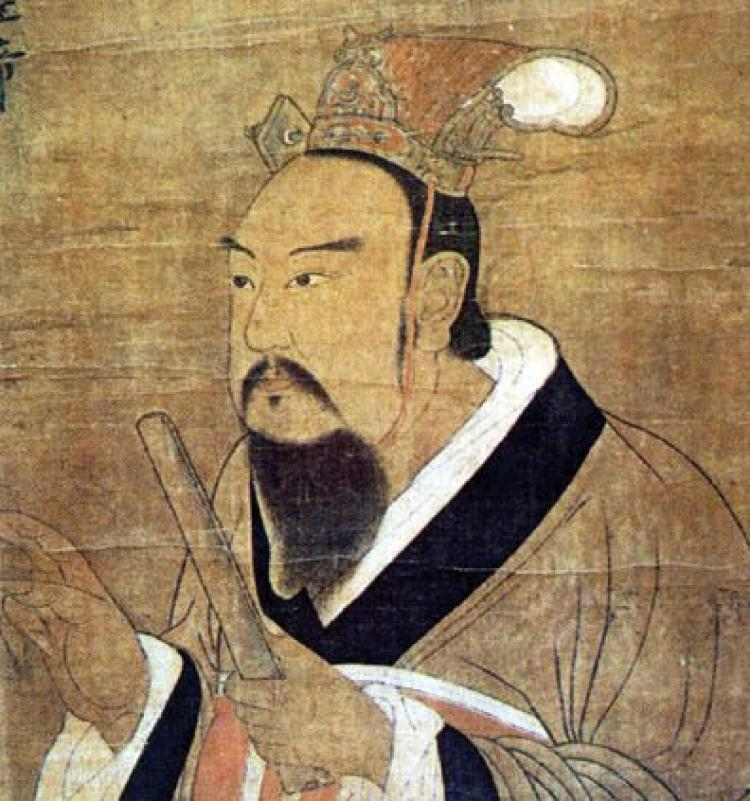 Emperor Wu of Liang. (Wikimedia Commons)