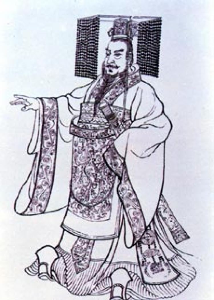 Qin Shi Huang, first emperor of China. ( Wikimedia Commons)
