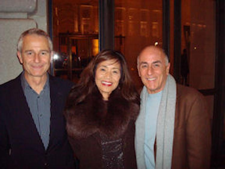 Mr Sterns, John, and Ms. Lee (The Epoch Times)