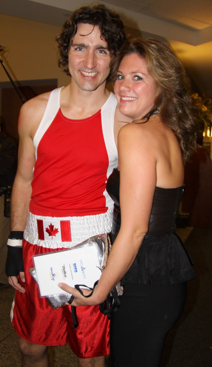 Justin Truydeau and wife