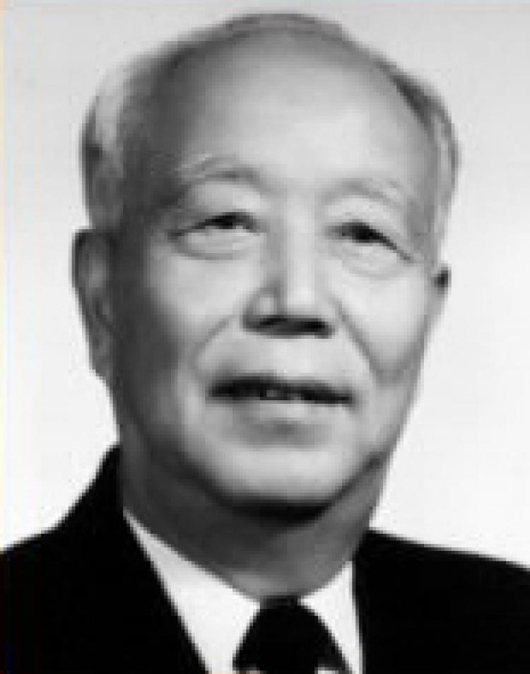 A portrait photograph of Wan Li, a long-time, high-ranking bureaucrat of the Chinese Communist Party (CCP). (Public domain image)
