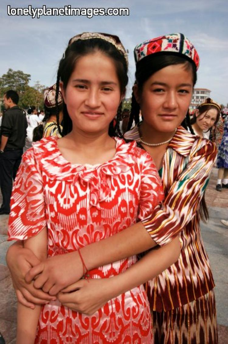 Women in Traditional Uyghur Costume  (lonelyplanetimages.com)