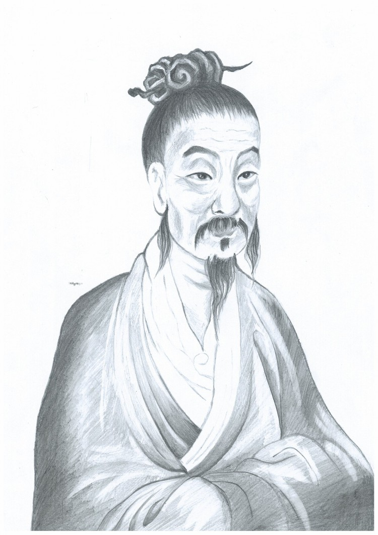 Yi Yin, great prime minister of Shang Dynasty. (Illustrated by Yeuan Fang/The Epoch Times)