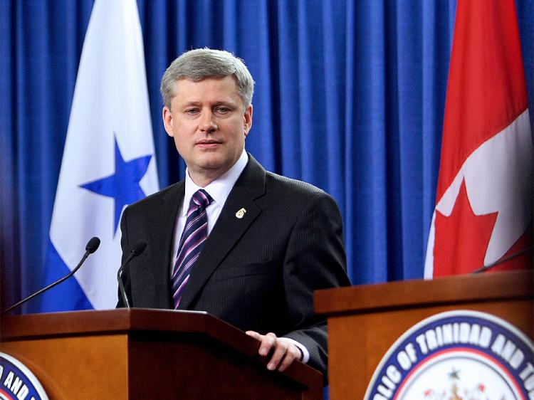 Canadian Prime Minister Stephen Harper has not been afraid to voice human rights concerns with the Chinese regime in the past. (Thomas Coex/AFP/Getty Images)
