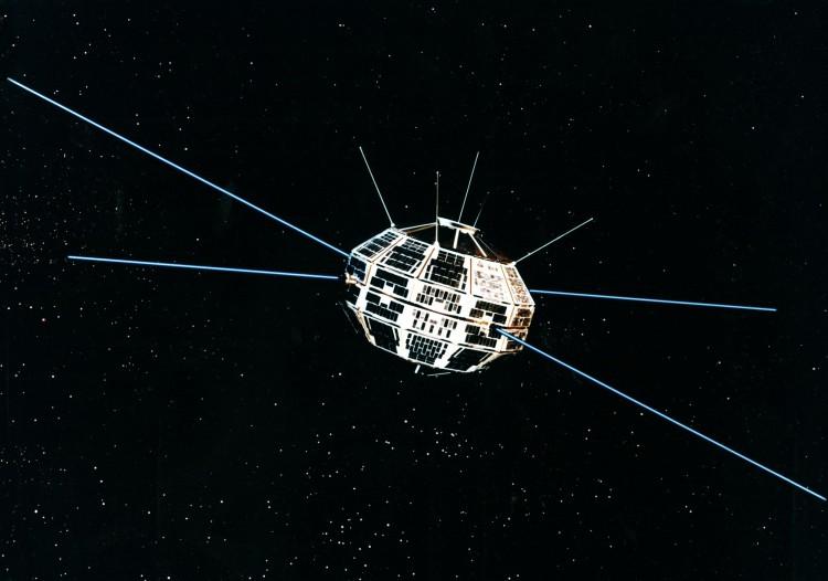 Alouette-1 research satellite