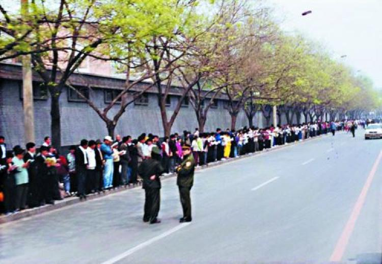 Ten years ago on April 25, 1999, 10,000 Falun Gong practitioners gathered in Beijing to peacefully appeal for their constitutional right to practise their belief. Three months later the Chinese regime launched its ruthless persecution of the group. (clearwisdom.net)
