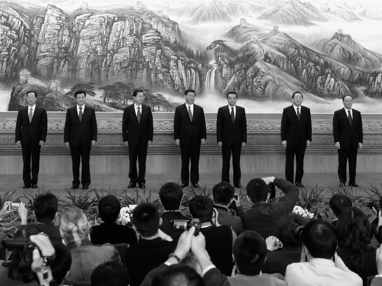 next Politburo Standing Committee members