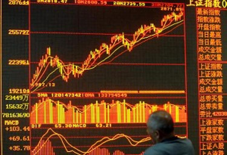 The credibility of China's optimistic economic statistics is often questioned. (Getty Images)