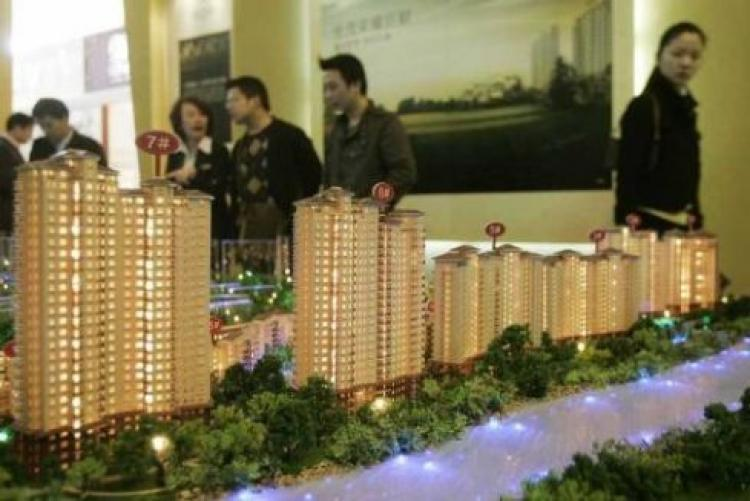 Property values have fallen by more than 40% in Shenzhen City, China. (China Photos/Getty Image)