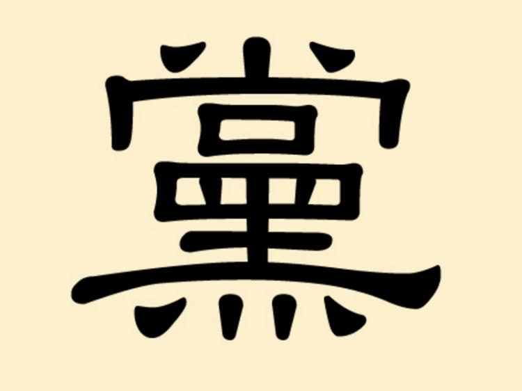 Mysterious Chinese Character 10 Party