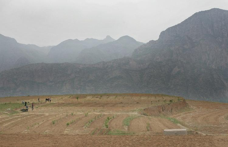 People in Hebei Province are suffering from water shortage due to the worst drought in recent years. (Getty Images)