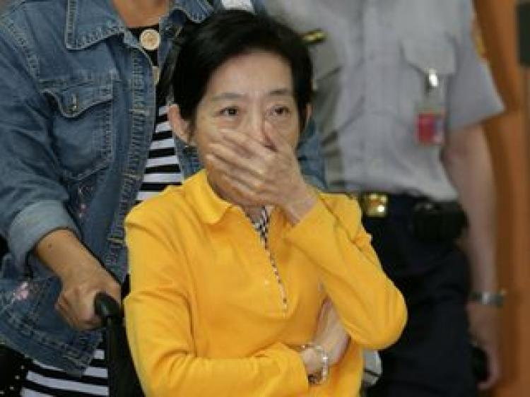Taipei District Court ruled former First Lady Wu Shu-chen guilty on September 1 for instigating her children to commit perjury. (CAN file photo)