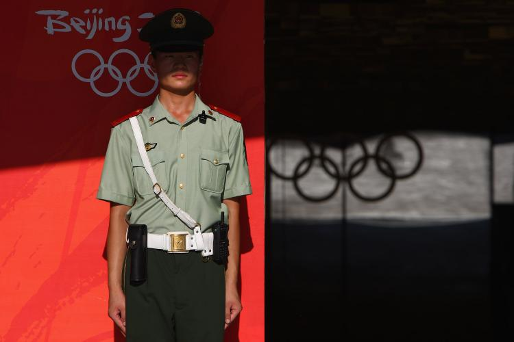 Human Rights Watch say the Chinese authorities have consistently violated their Olympics-related human rights commitments.  (Andrew Wong/Getty Images)