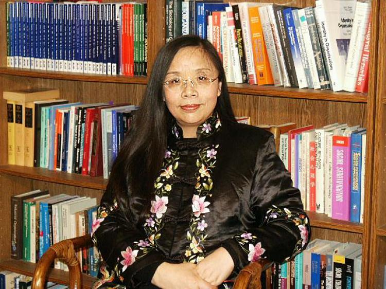 Economist Ms. He Qinglian  (The Epoch Times)