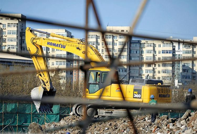 UNFINISHED: Low completion rate of affordable housing is not news in China. (AFP/Getty Images)