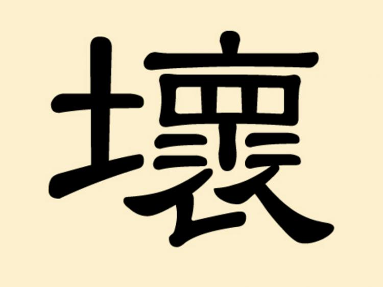 Mysterious Chinese Characters 9 Huai
