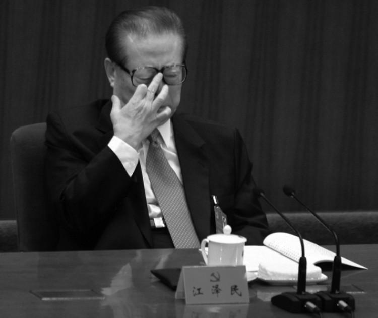 Jiang Zemin in 2007. (Fredric J. Brown/AFP)