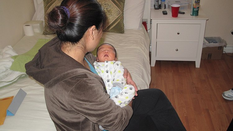 Mrs. Liu fled from China to escape a forced abortion.