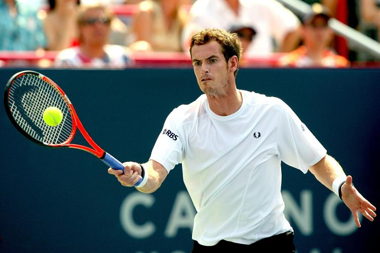 WORLD NO.2: Britain's Andy Murray is in good shape for the U.S. Open later this month. (Matthew Stockman/Getty Images)