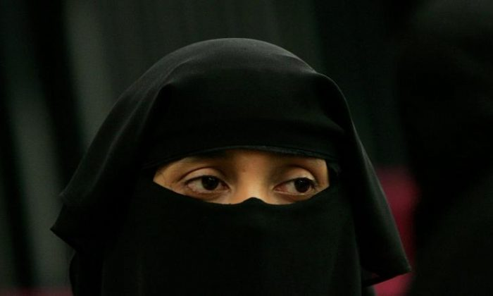 A Michigan Supreme Court ruling could force Muslim women to remove their veils in court. (Scott Barbour/Getty Images)