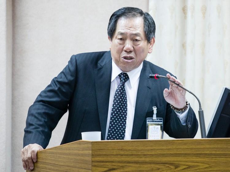 Taiwan National Security Bureau Director General Tsai De-sheng