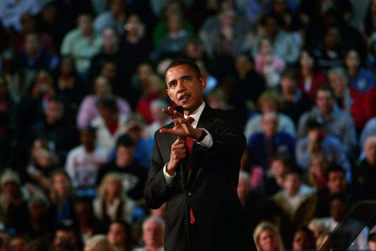 President Barack Obama said during his campaign that he would 'amend' NAFTA to ensure that it 'works better for all three countries.' (Scott Olson/Getty Images)