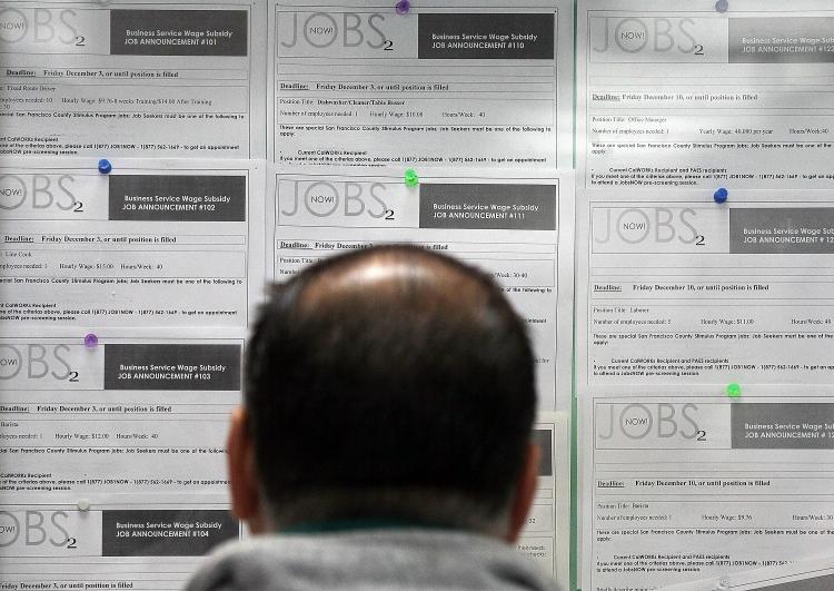 Unemployment job listings