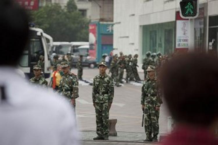 Martial law was once again declared in Urumqi.
