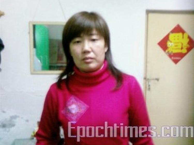 Mrs. Wang Haizhen. (The Epoch Times)