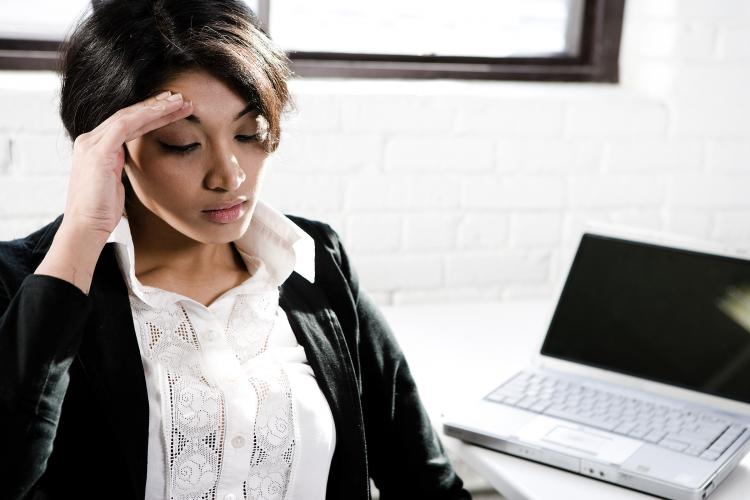 IMPAIRED ABILITY TO WORK: A national survey on depression highlights the significant impact the illness can have on productivity in the workplace.  (Photos.com)
