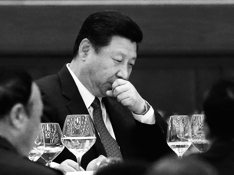 Chinese Party leader Xi Jinping in September.