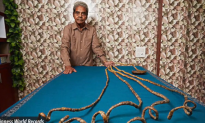 Meet the Man With Longest Fingernails in the World (Video)