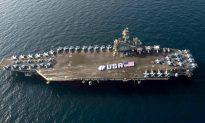 US Navy Ship Sails by China's Man-Made Islands