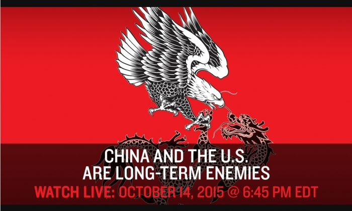 Intelligence Squared hosts a debate on the nature of U.S.-China relations on Oct. 14. (Intelligence Squared)