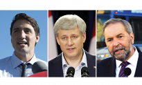 Harper Setting Sights on Trudeau in Final Days of Federal Campaign