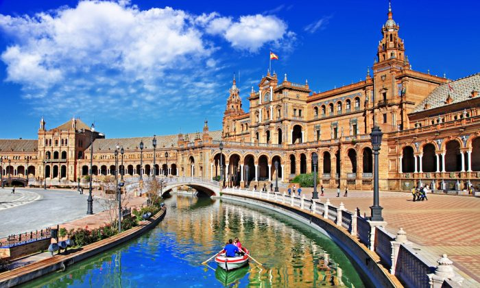 Plaza De Espana, Sevilla, Spain. (Shutterstock)