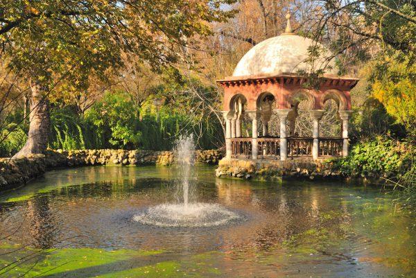 Romantic place in Maria Luisa park
