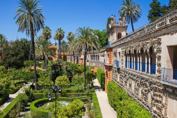 Royal Alcazar of Seville (Real Alcazar de Sevilha), Seville, Spain
