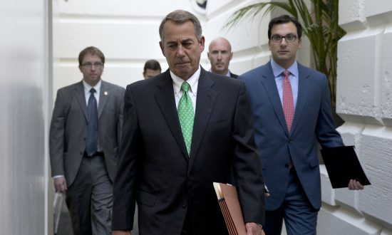 Speaker Boehner Pushes for Budget Deal Before Leaving House