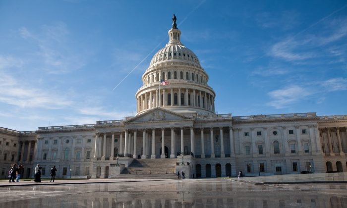 The U.S. Capitol in Washington, D.C., on Nov. 19, 2011. (Brendan Hoffman/Getty Images)