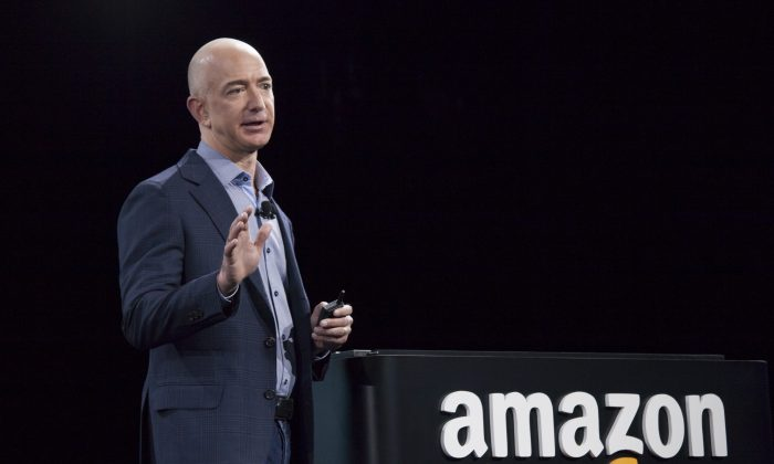 Amazon's Jeff Bezos is worth over $100 billion